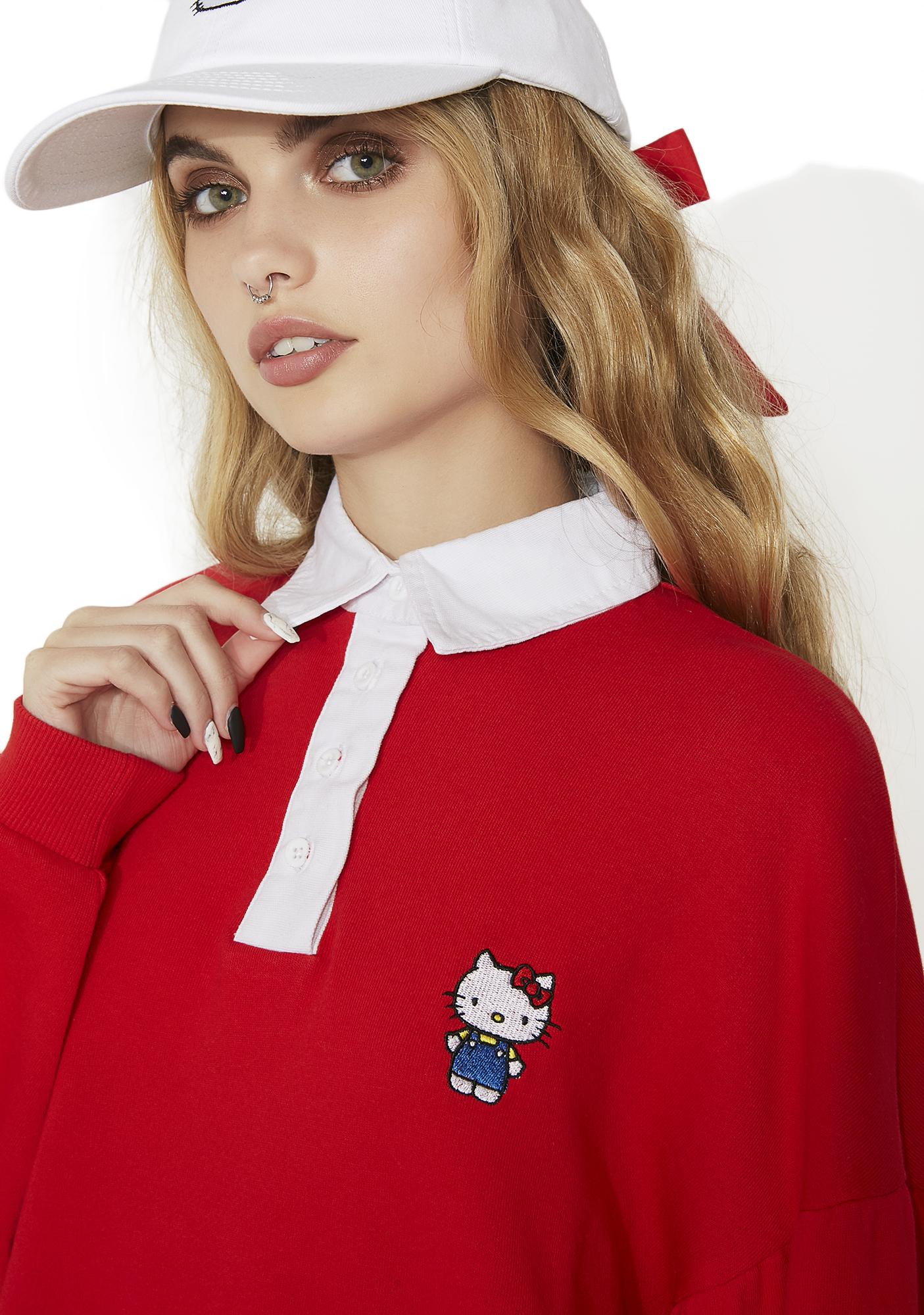Lazy Oaf Hello Kitty Rugby Dress