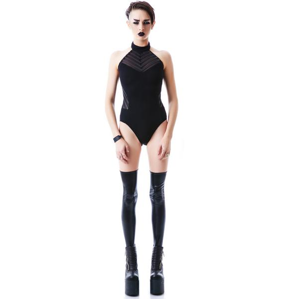 Lip Service Liquid Mesh Bodysuit