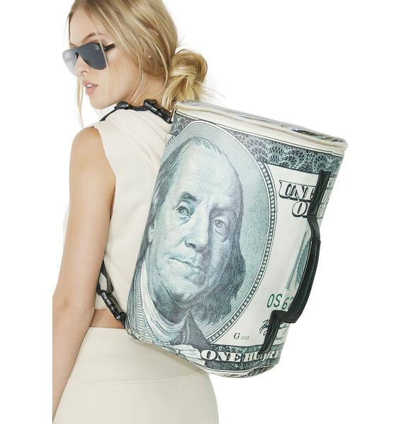 Outerspace I Got Money Convertibale Backpack