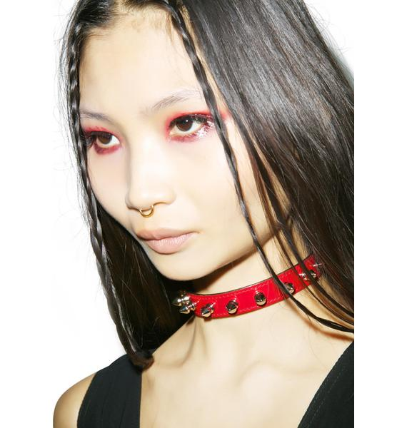 Spiked Out Choker