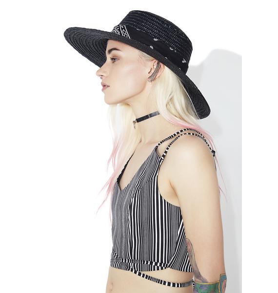 Paisley Alley Wide Brim Hat