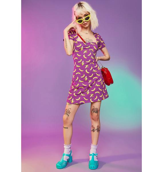 Gone Bananas Mini Dress
