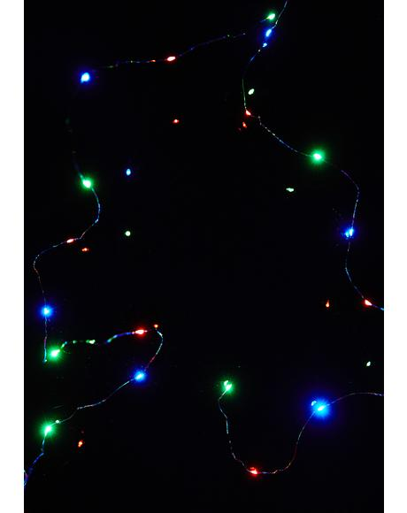 Trippy Lucky Stars String Lights