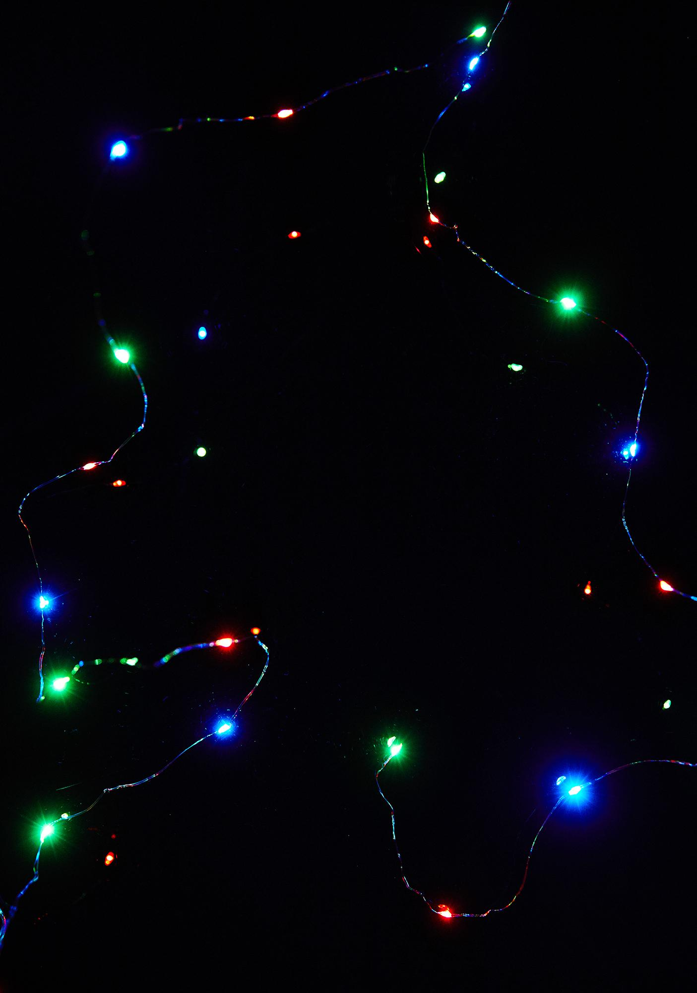 Trippy Lucky Stars String Lights