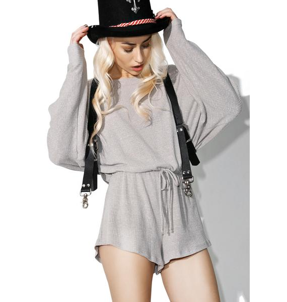 Run Around Long Sleeve Romper