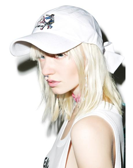 X GIZA Tennis Ribbon Cap