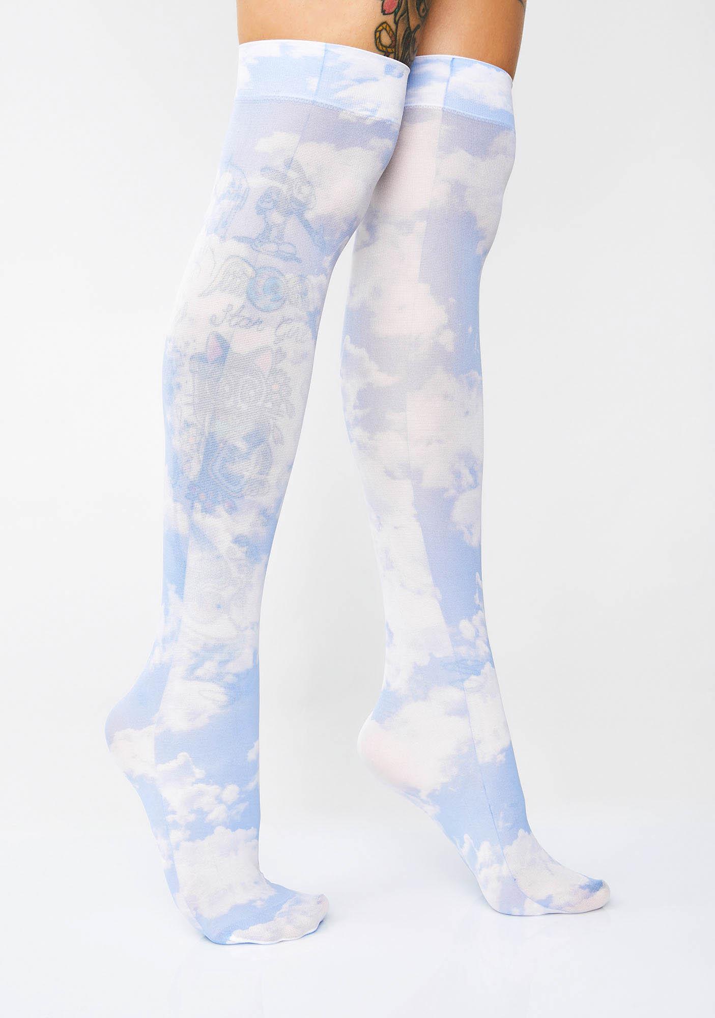 Heaven's Angel Over The Knee Socks