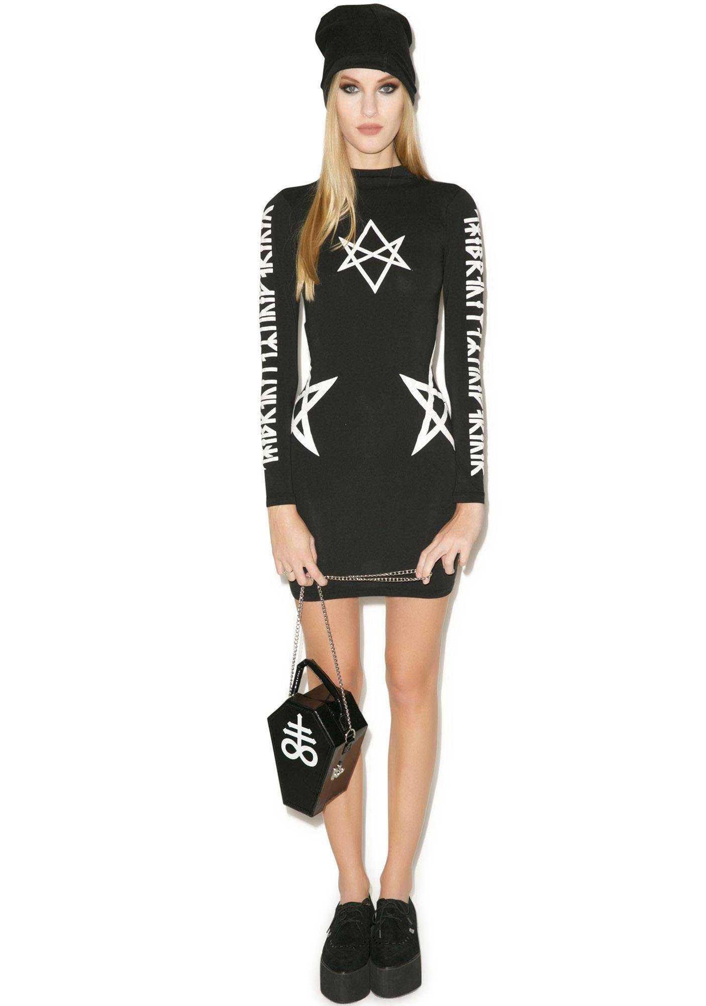 Long Clothing Hexagram Dress