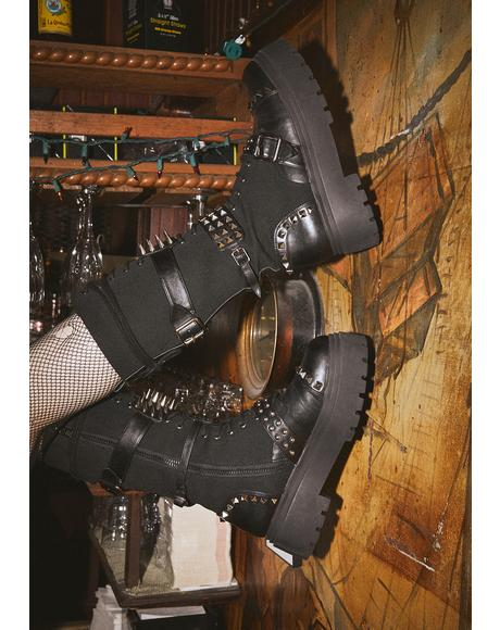 Fully Loaded Combat Boots