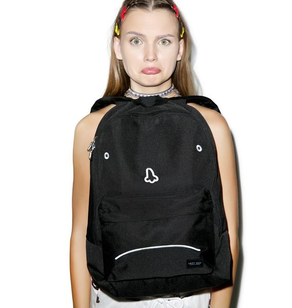 Lazy Oaf Sad Face Rucksack