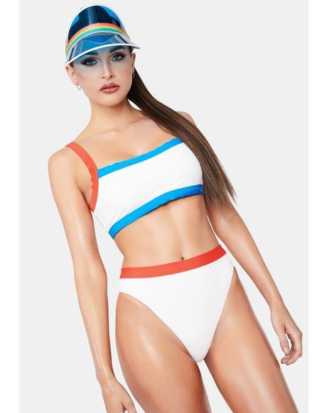White Combo Ultra Bikini Bottoms