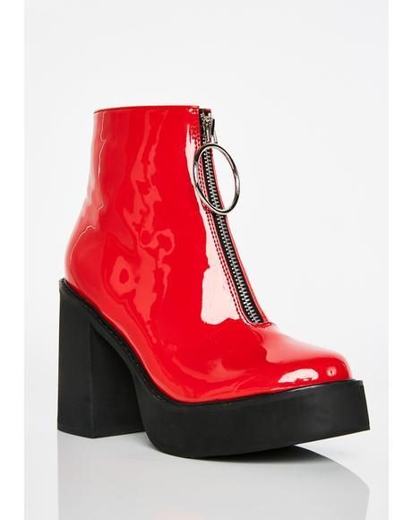 Devil Franky Platform Boots