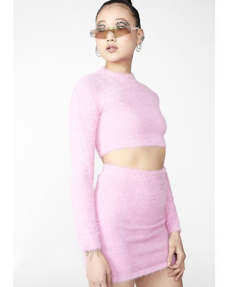 Pixie Fuzzy Freaq Skirt Set