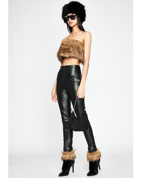 Lady Luxury Faux Fur Set
