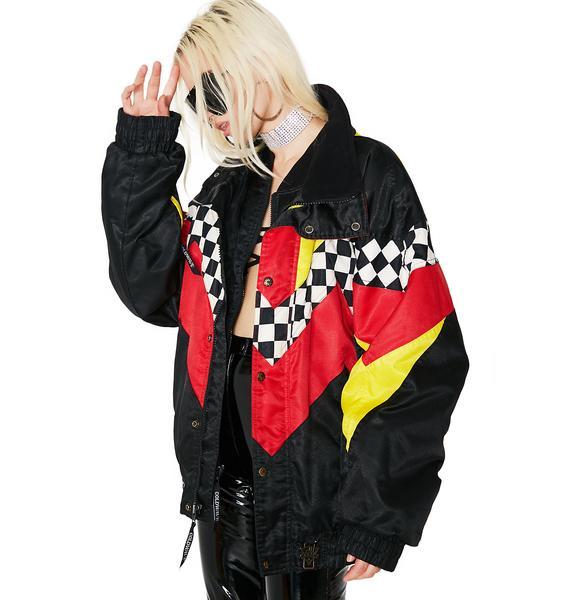 Vintage Coldwave Multi Check Jacket