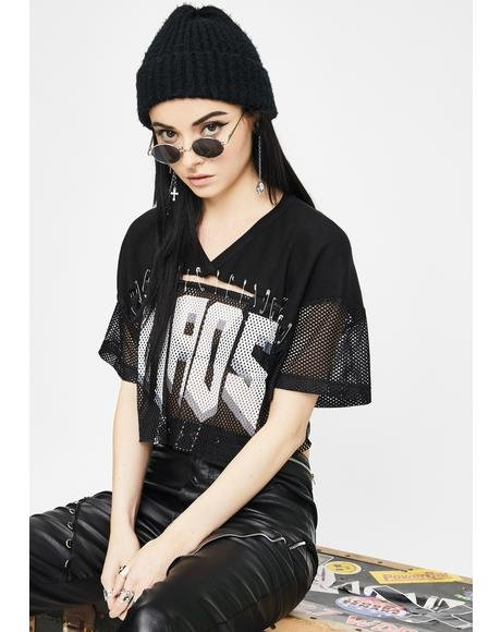 Cruel Chaos Cropped Jersey