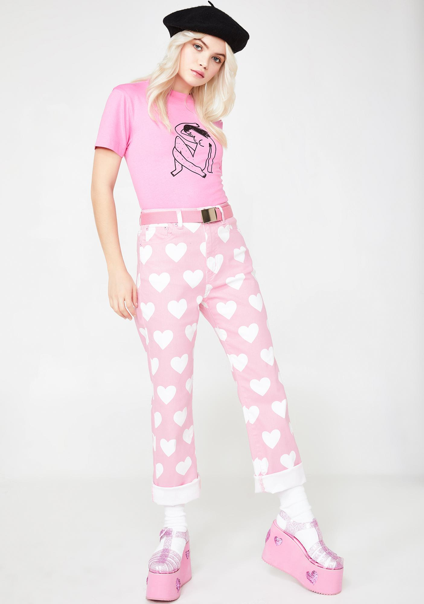 Lazy Oaf All My Heart Jeans
