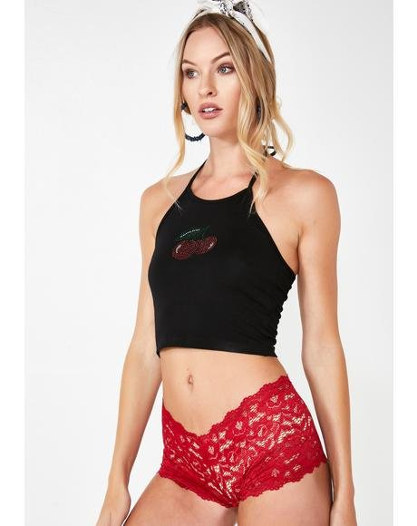 Passion Playtime Lace Boy Shorts