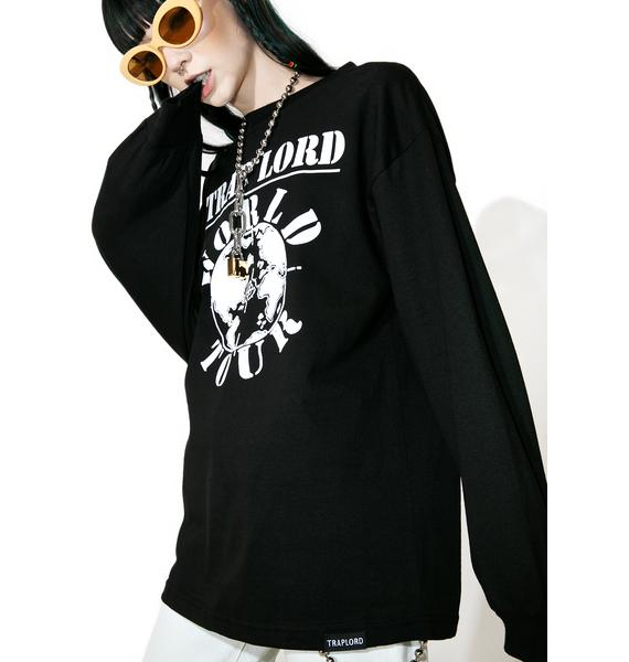 Traplord World Tour Long Sleeve Tee