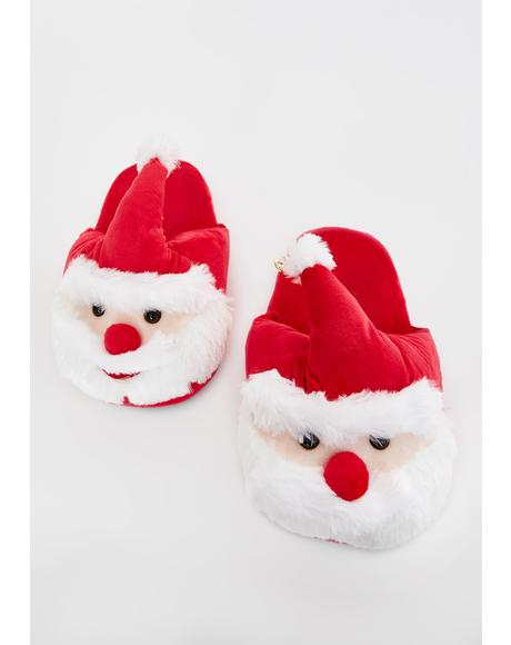 Santa Paws Slippers