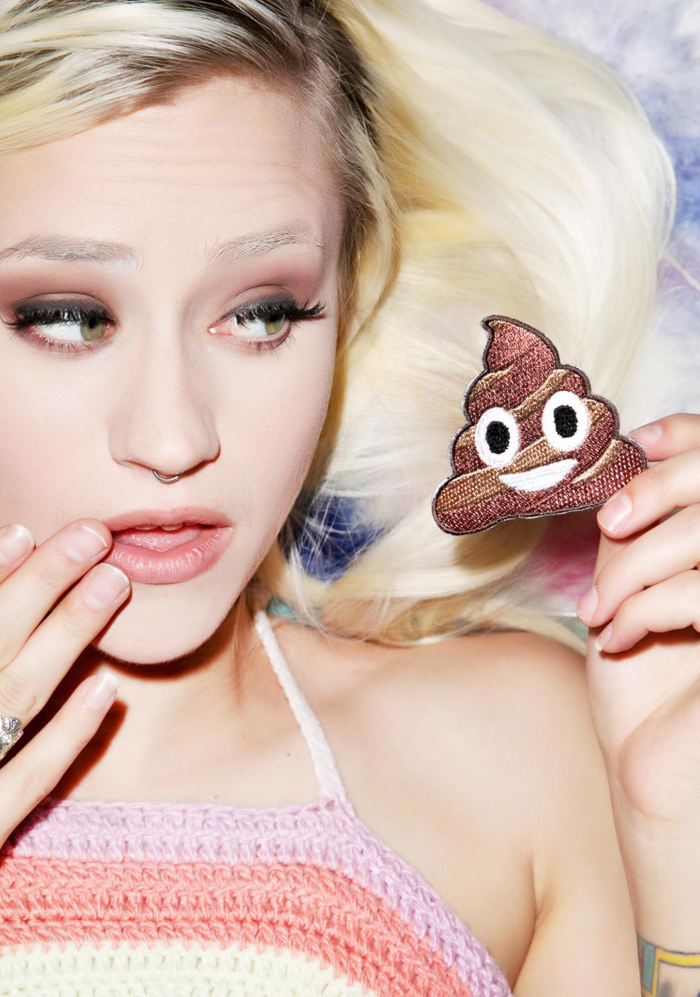 Poo Emoji Patch