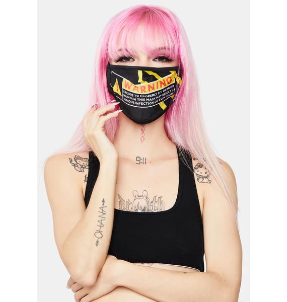 FYDELITY Warning Face Mask