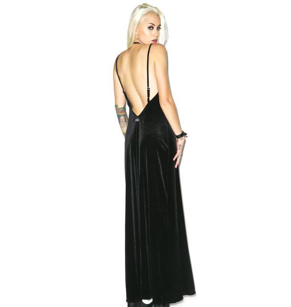 Jac Vanek Velvet Paris Maxi Dress