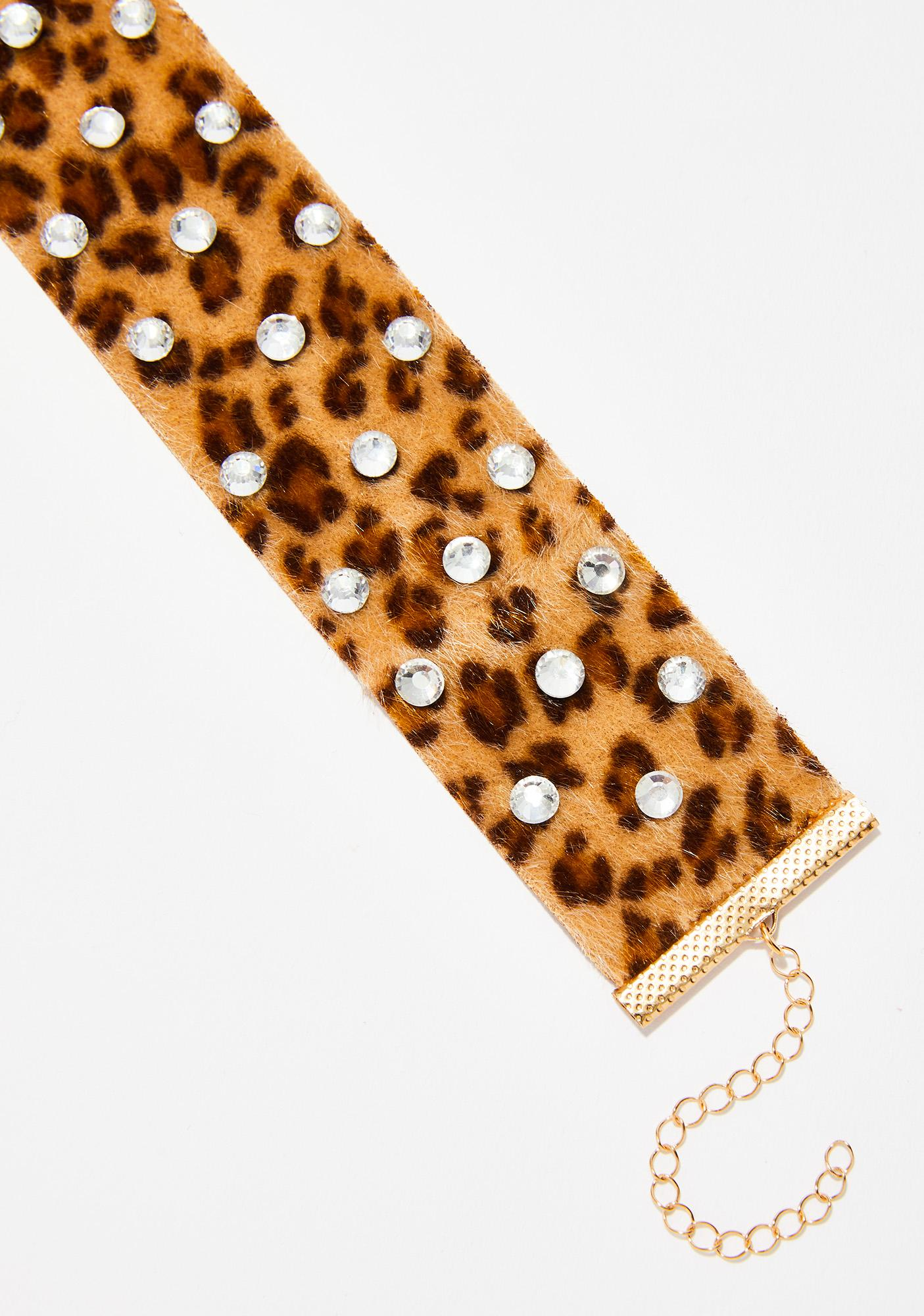 Bad Kitty Sparkle Choker