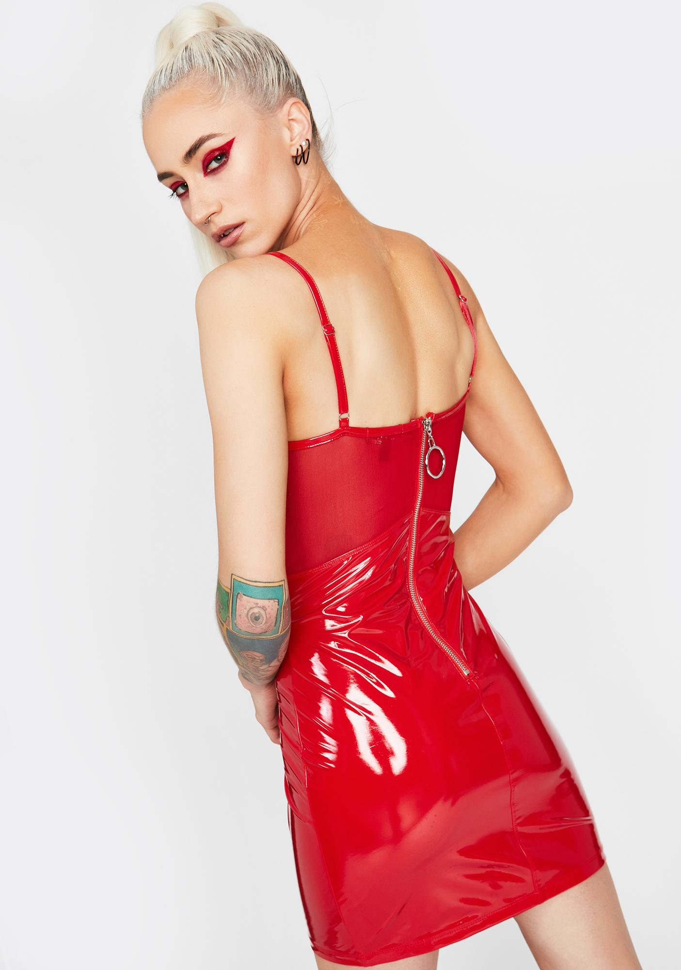 HOROSCOPEZ On Your Radar Vinyl Dress