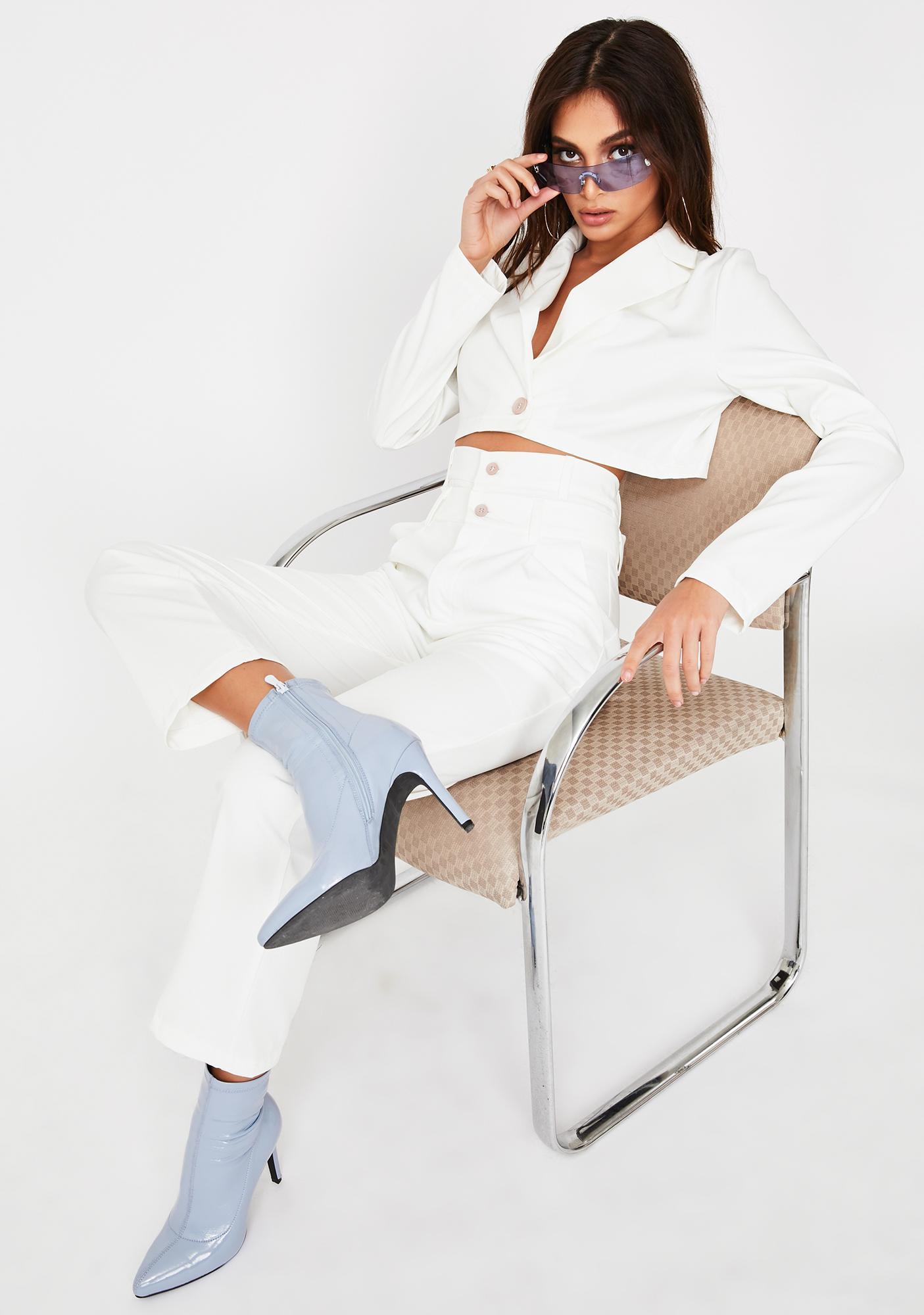 ZEMETA High Waist Suit Set