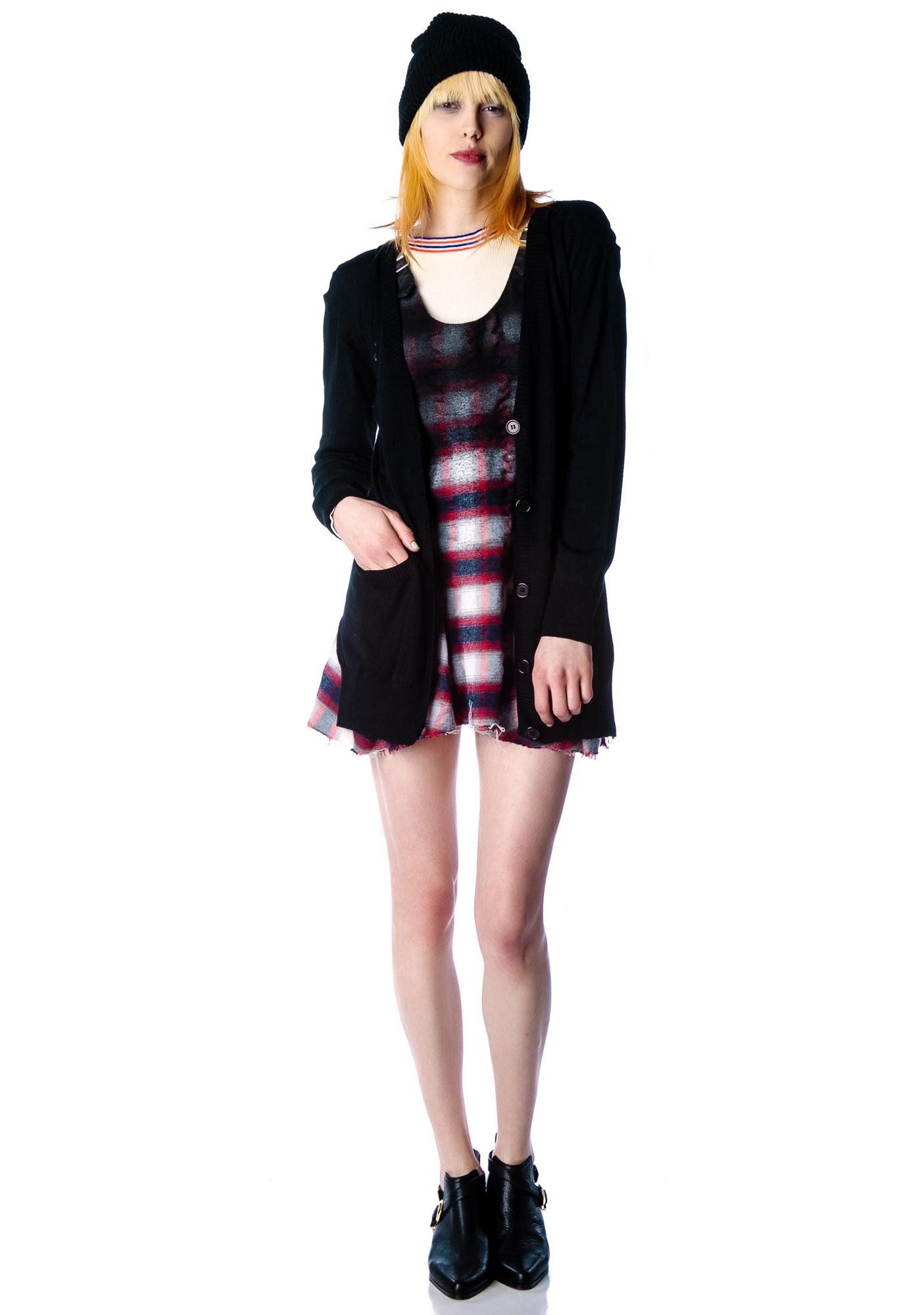 Halfman Romantics Miss Fur Cardigan