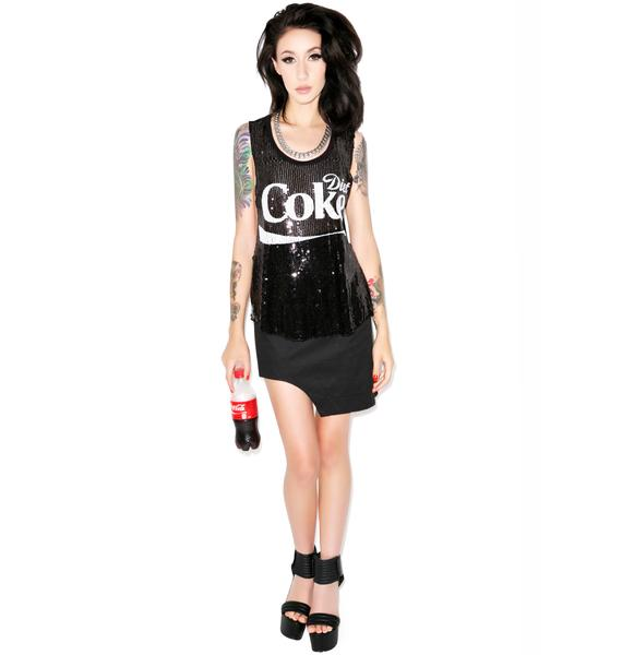 Diet Coke Sequin Tank