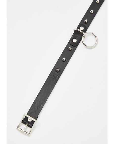 Touch Of Doom O-Ring Choker