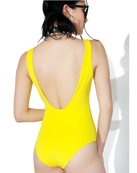 Lemonade Salinas One Piece Swimsuit