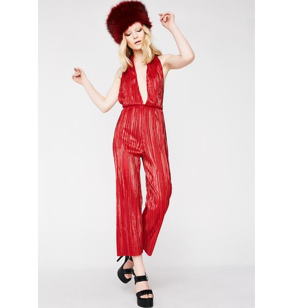 Disco Fox Jumpsuit