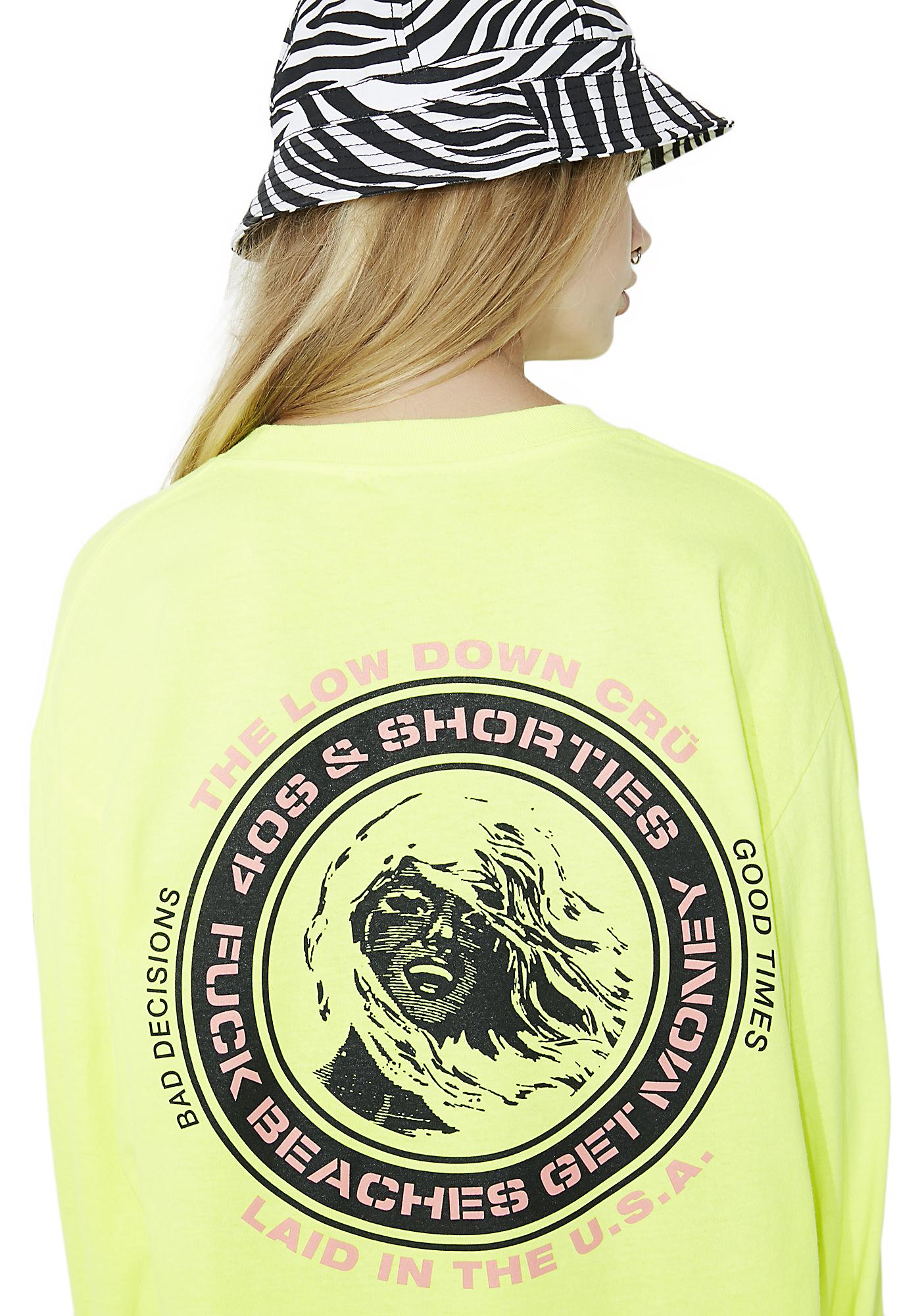 40s & Shorties F Beaches Long Sleeve Tee