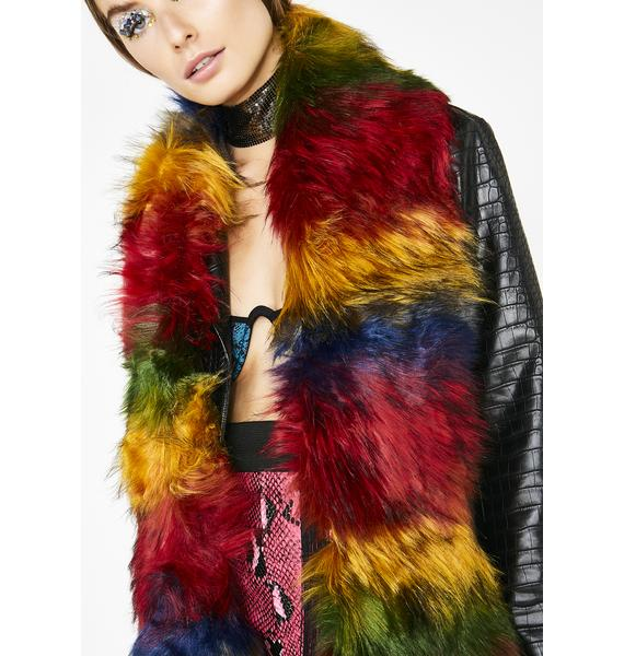 Funk Me Up Furry Scarf