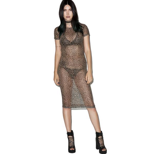 Motel Leopard Minsk Dress
