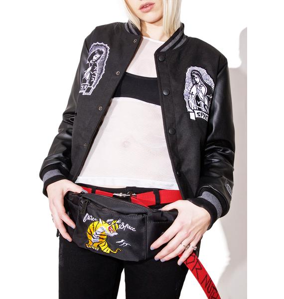 Outerspace Tiger Fanny Pack