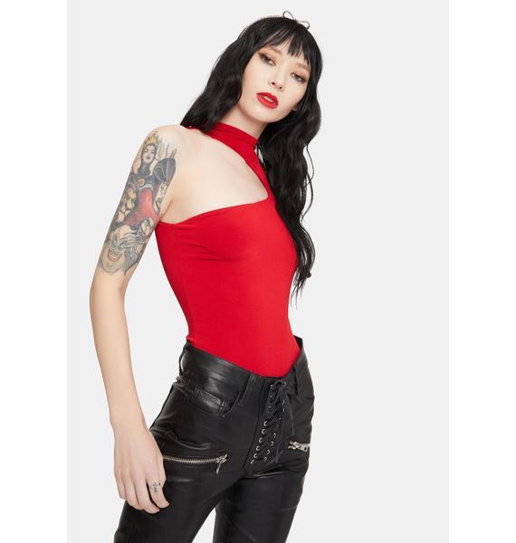 Take A Look One Sleeve Bodysuit