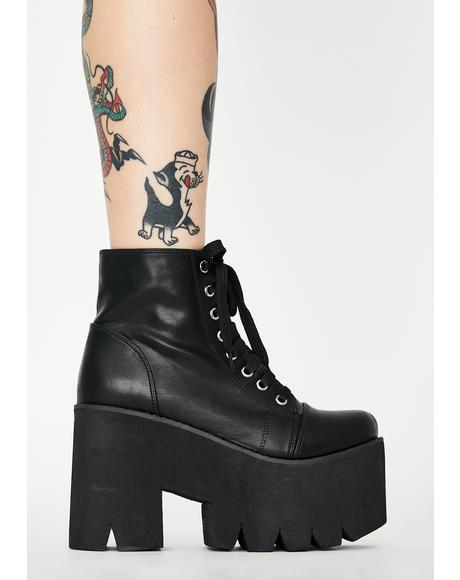 This Feeling Forever Platform Boots