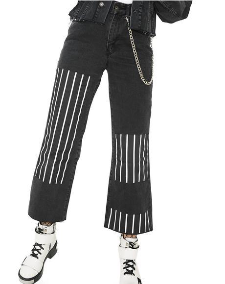 Streak Jeans