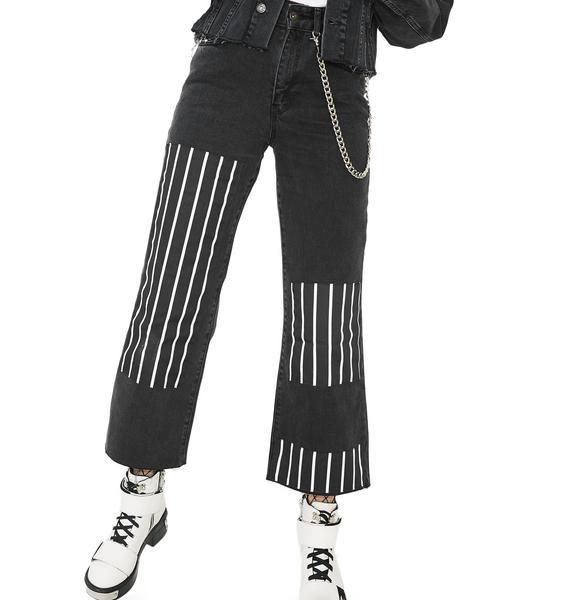 The Ragged Priest Streak Jeans