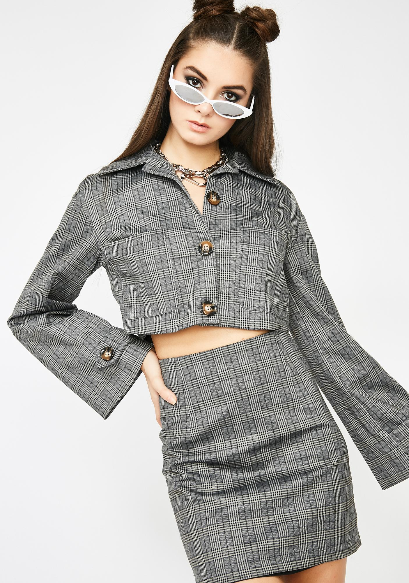 Boss BB Plaid Set