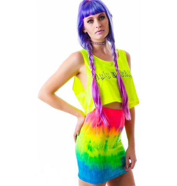 Obscure Couture Fantasia Mini Skirt