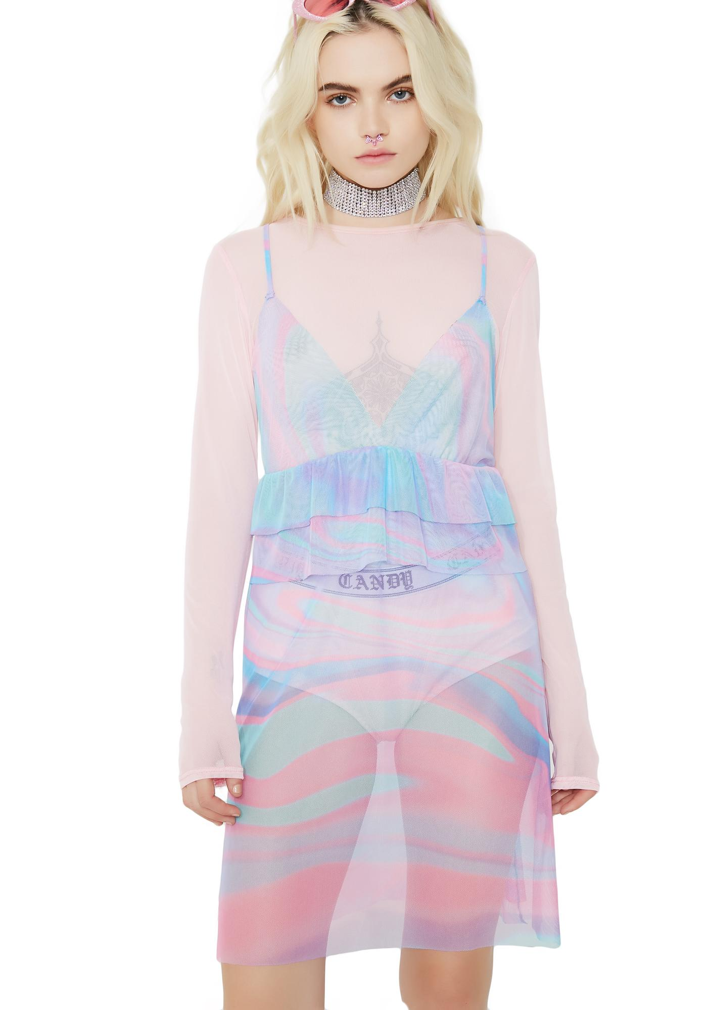 Sugarpills Twirl Mesh Dress