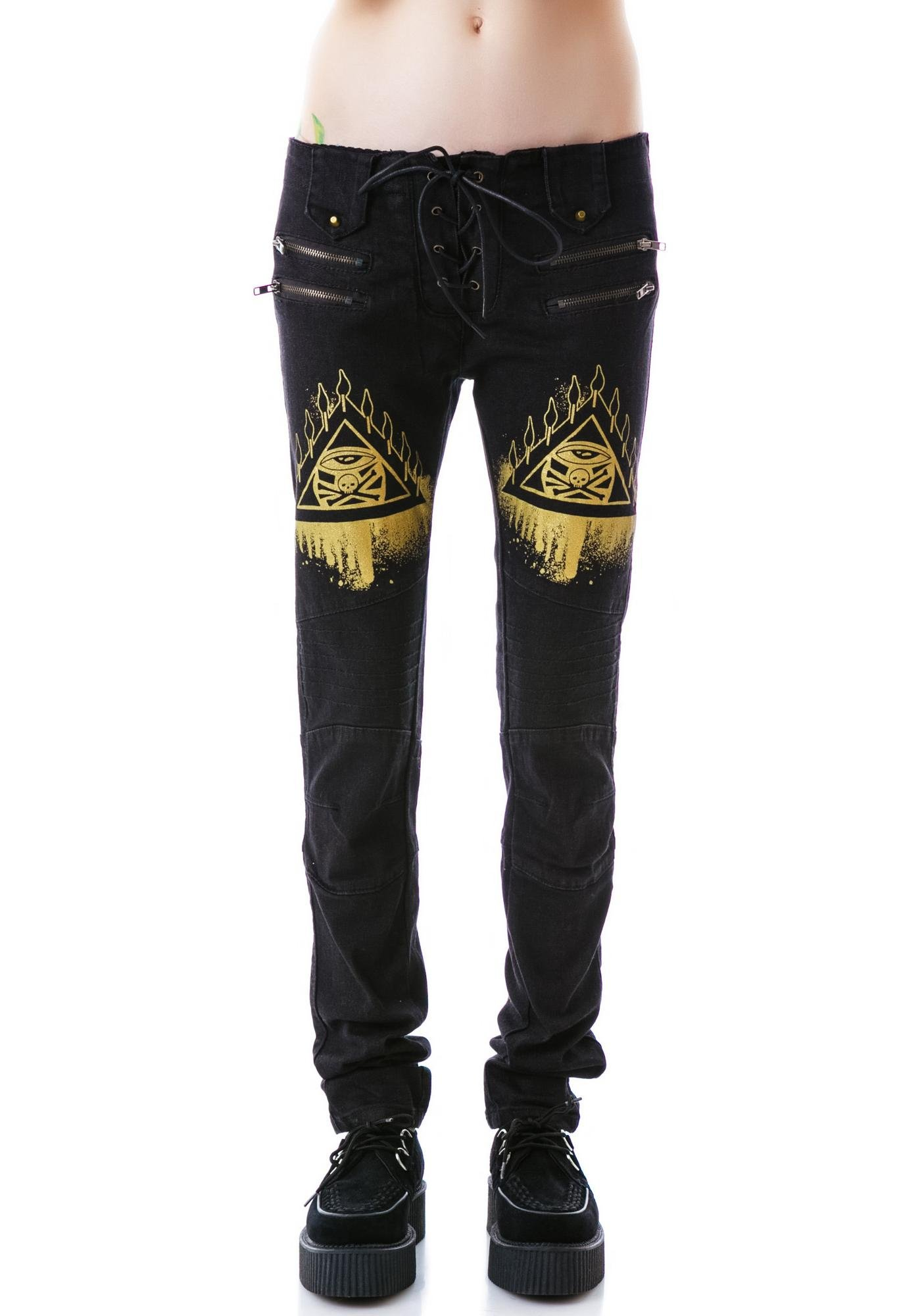 Too Fast The Eye Moto Jeans