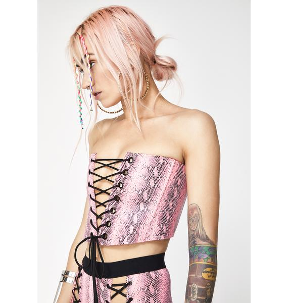 Current Mood Lethal Lover Corset Top
