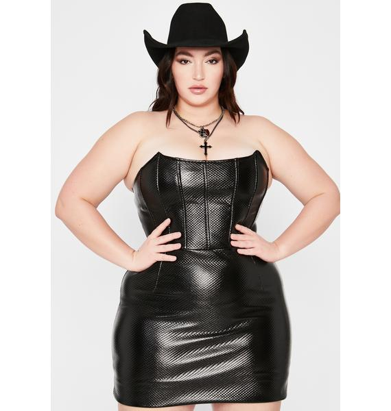 Wild Wicked Winds Corset Dress
