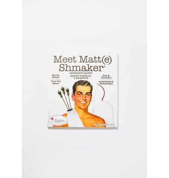The Balm Meet Matt(e) Shmaker Eyeshadow Palette